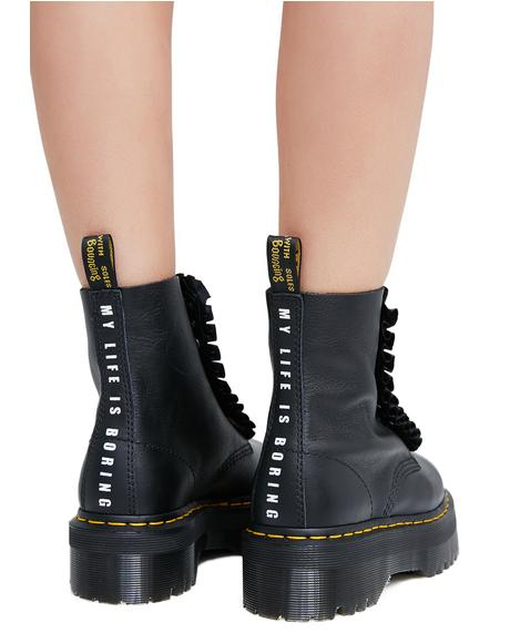 x Lazy Oaf Jungle Boots