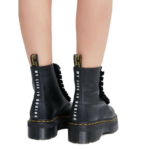 Dr. Martens x Lazy Oaf Jungle Boots
