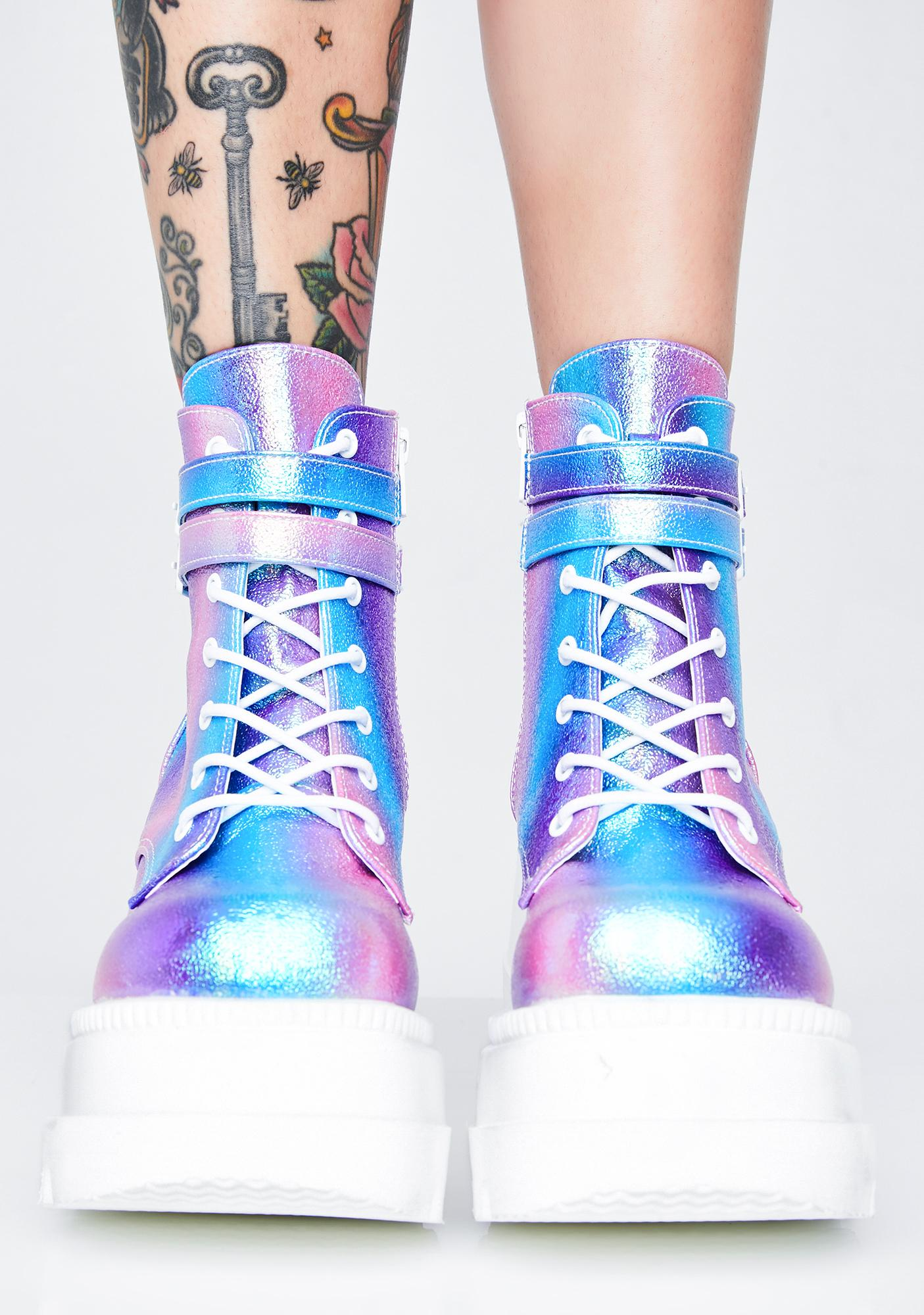 Demonia Fairy Technopagan Boots