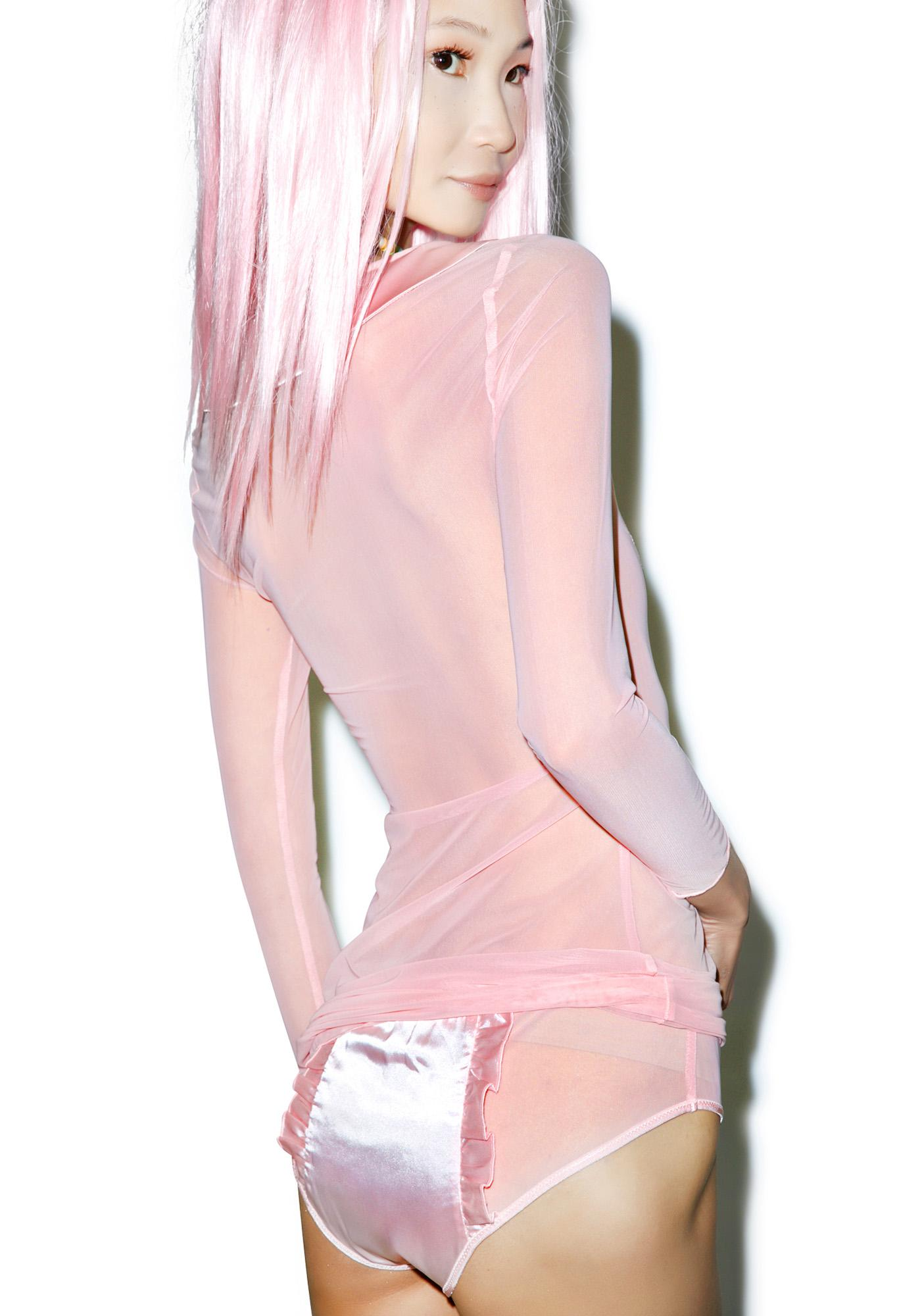 Sugar Thrillz Sheer Love Dress