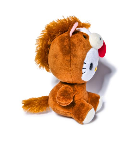 Sanrio Farm Friends Hello Kitty Horse Plush