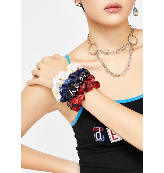 dELiA*s by Dolls Kill Ur The Bomb Scrunchie Set