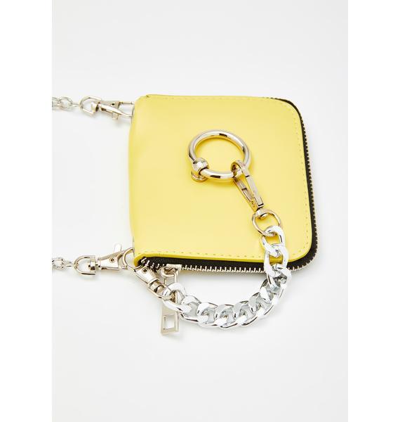 Mellow Ur Death Wish Chain Crossbody Bag