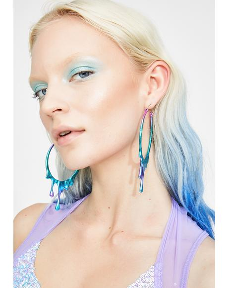 Make Ya Melt Hoop Earrings
