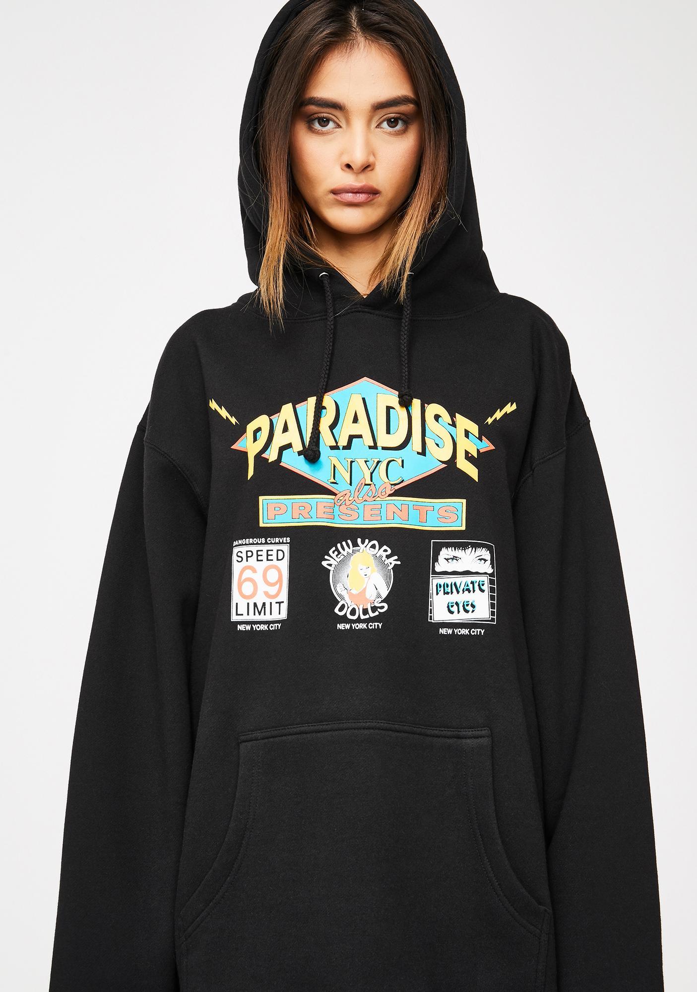 PARADISE.NYC Flashdancers Hoodie
