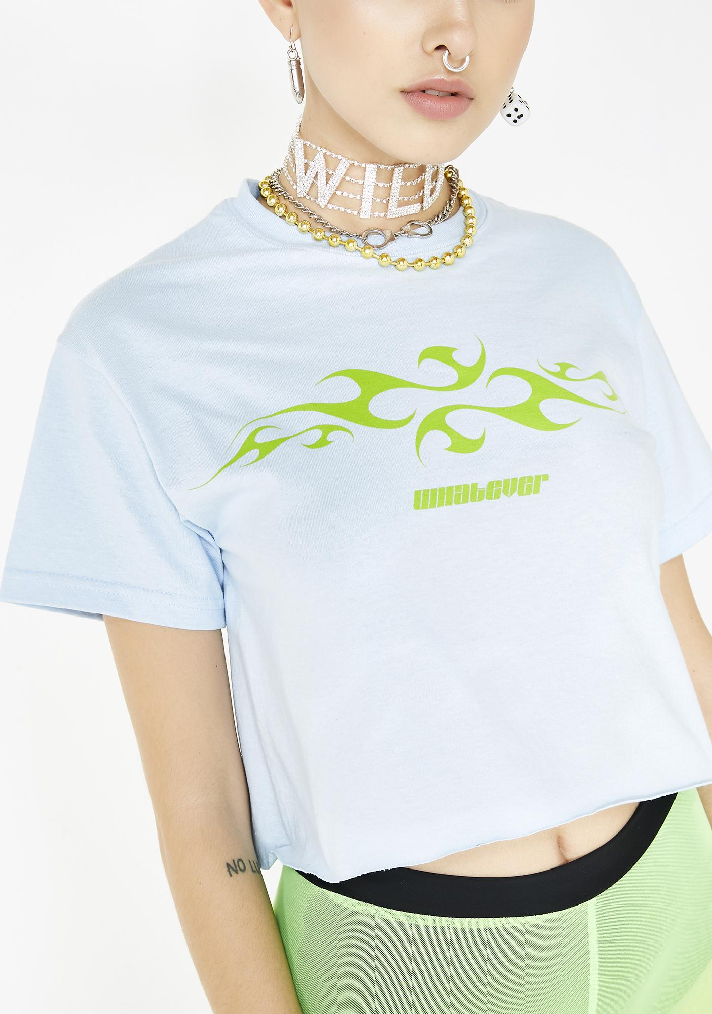 Valley High Whatever Cropped Tee