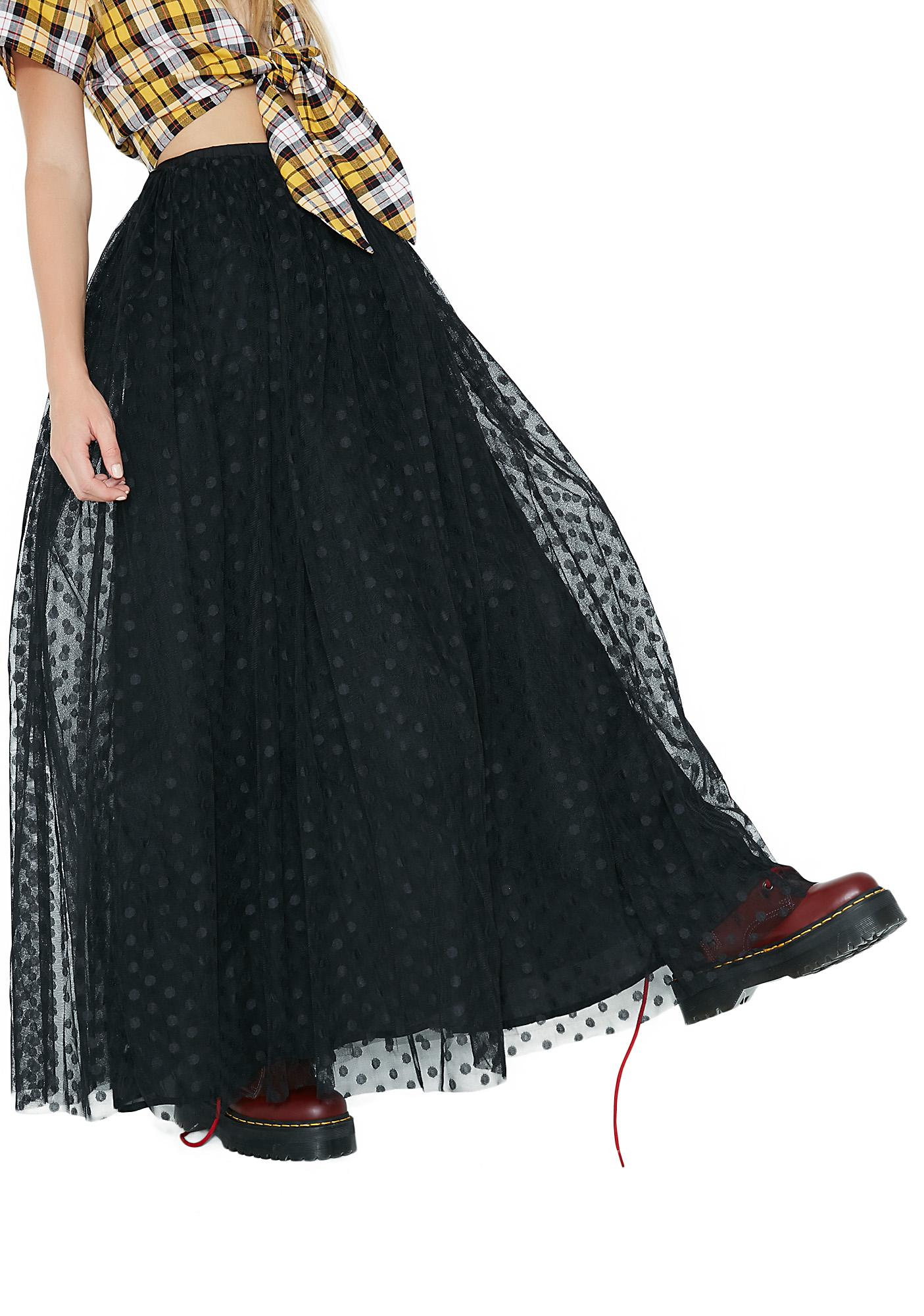 Glamorous Princess Of The Night Tulle Skirt