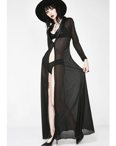 Sexxcapade Sheer Robe N' Panty Set