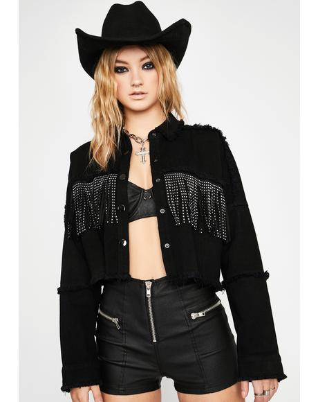 Ridin' Flirty Fringe Jacket