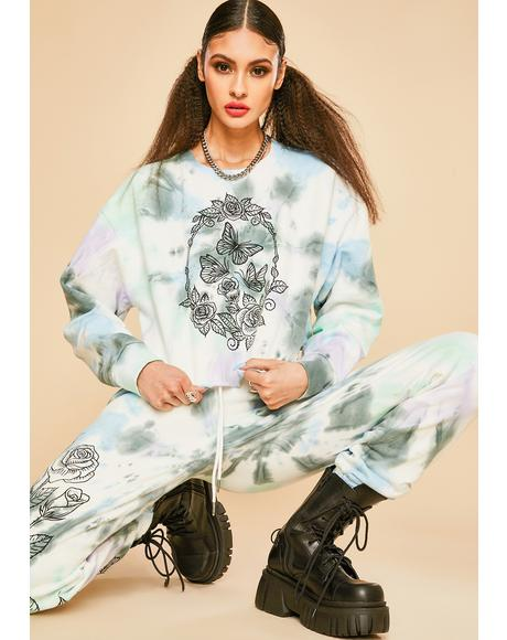 Lust For Wonder Tie Dye Sweatshirt