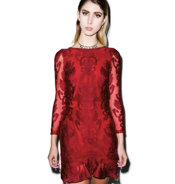 For Love & Lemons Night To Remember Mini Dress