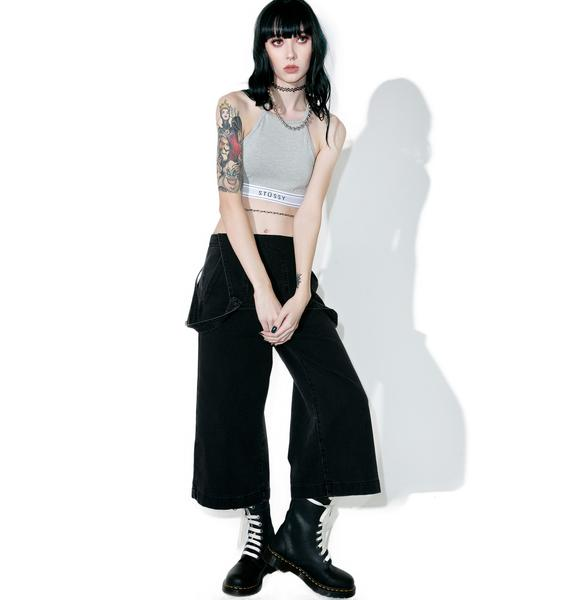 Stussy Basic High Neck Crop