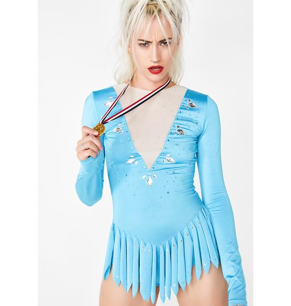 Dolls Kill Go For Gold Skater Costume