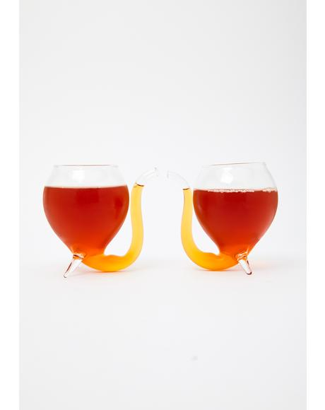 Devil's Cup Wine Glasses