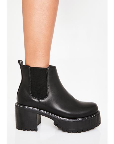 Alki Heeled Boots