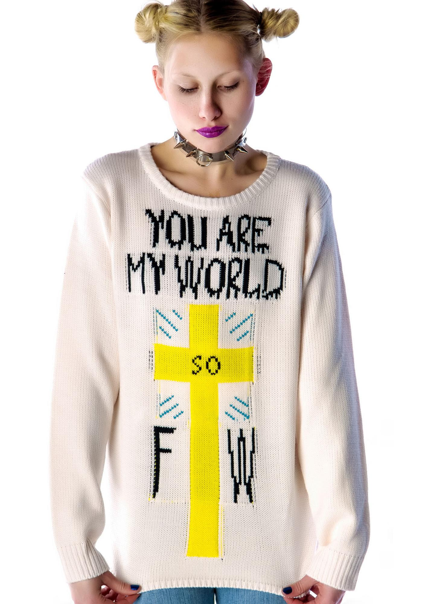 UNIF You are My World Sweater