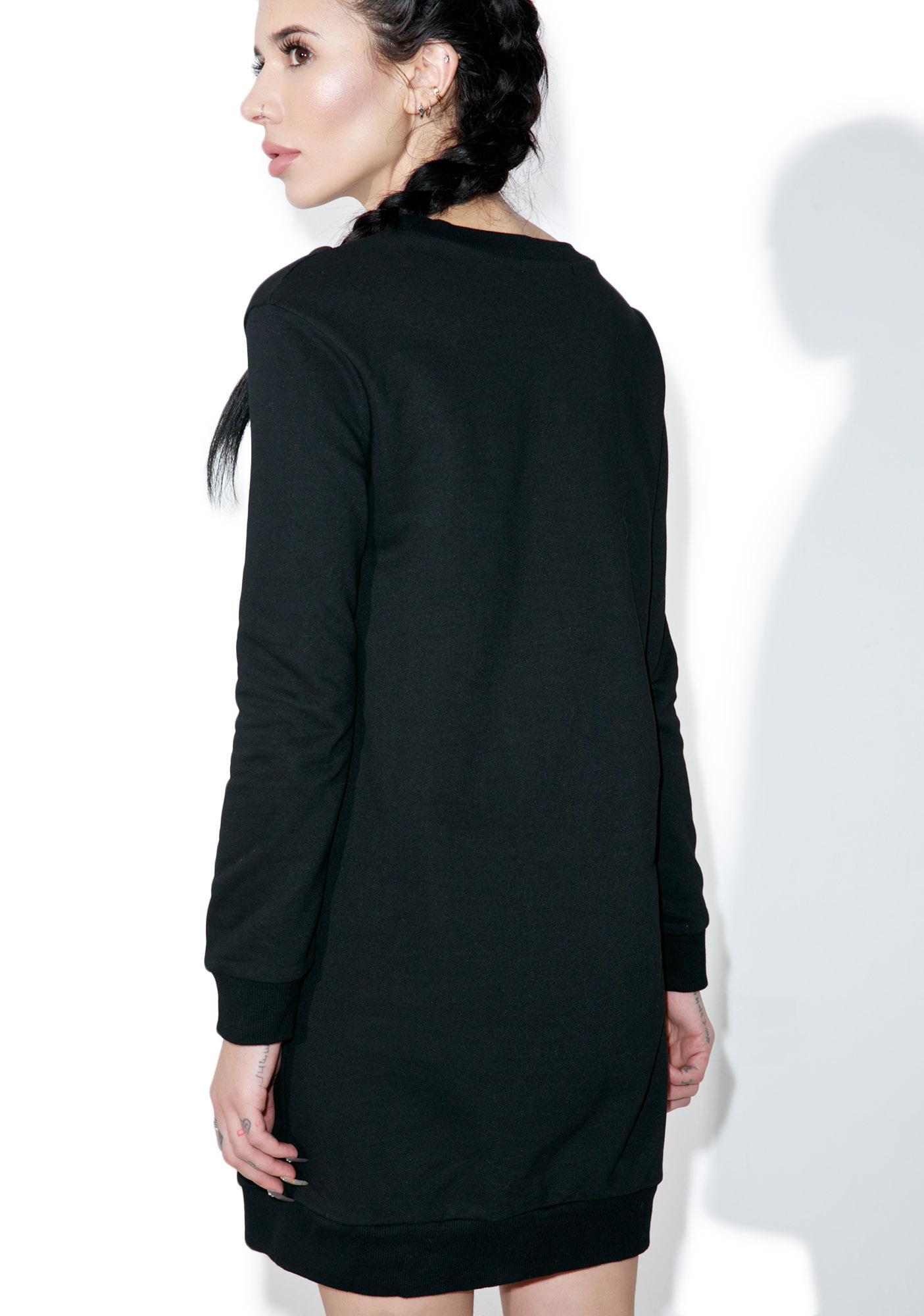 Glamorous Scheme Sweater Dress