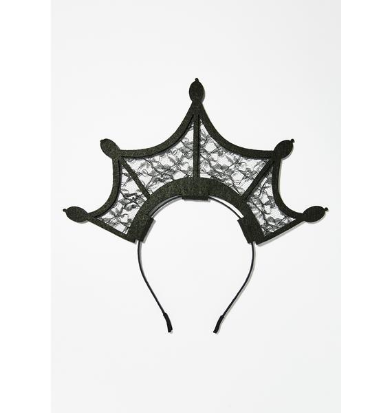 Sinister Queen Lace Headband
