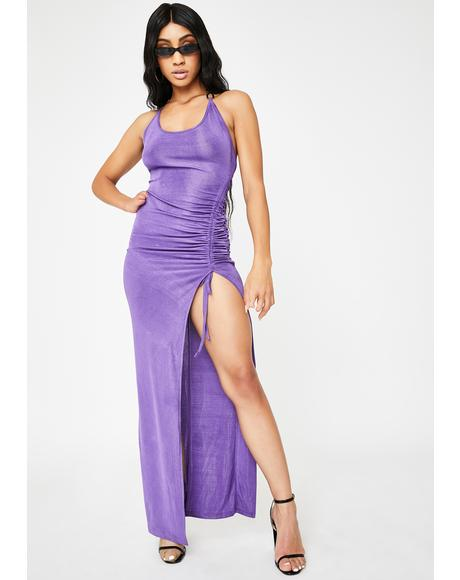 Purple Halley Maxi Dress