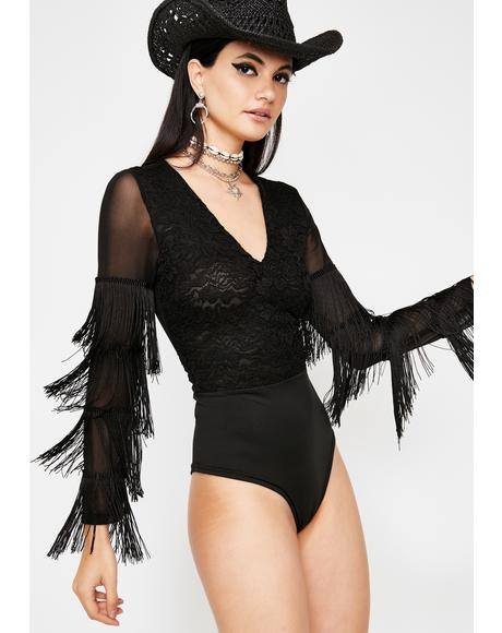 Midnight Magik Lace Bodysuit