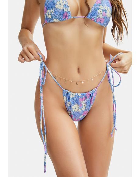 Pastel Floral Leyna Bikini Bottoms
