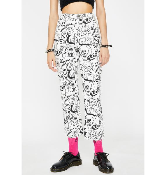 Lazy Oaf Drawn Out Slim Jeans