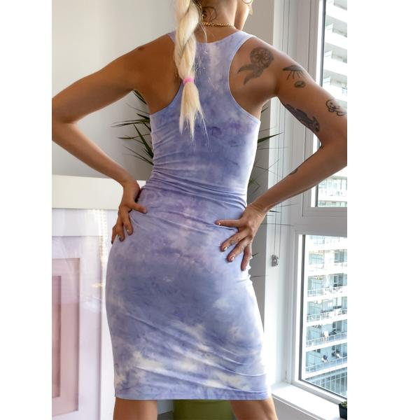 Sky Room With A View Mini Dress