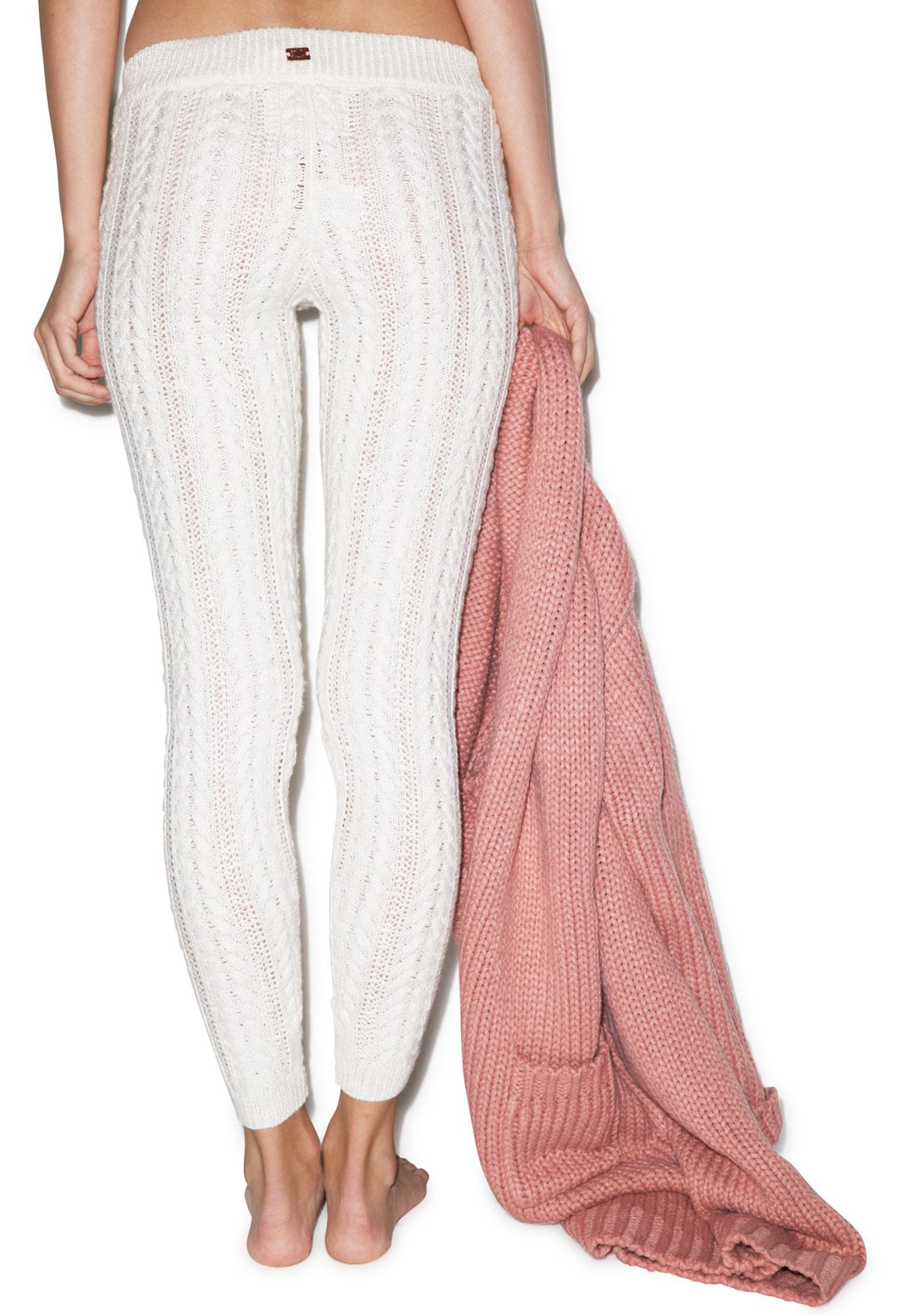 For Love & Lemons Solstice Cable Leggings