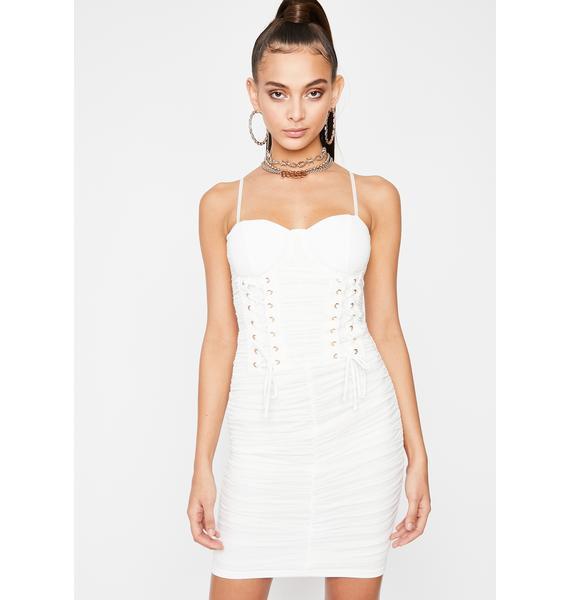 Lovely Soiree Corset Dress