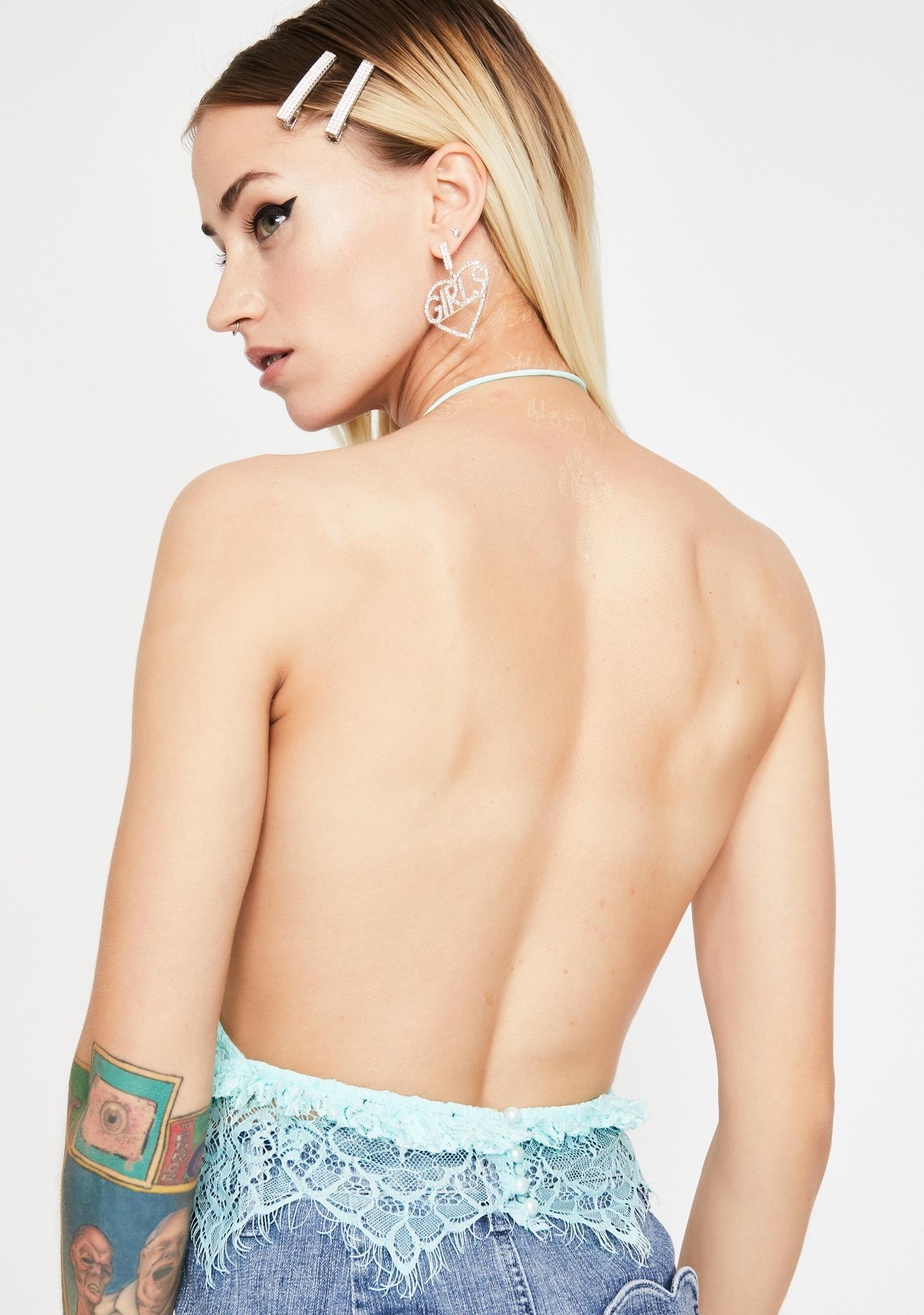 Time For Trouble Halter Top