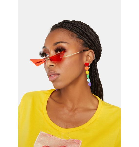 Hot Chatty Catty Cat Eye Sunglasses