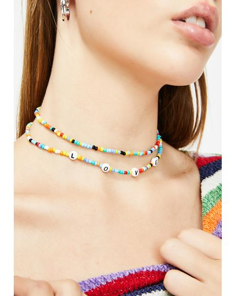 Recess Bell Layered Choker