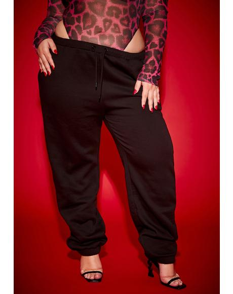 Legit Goddess Time Fleece Joggers