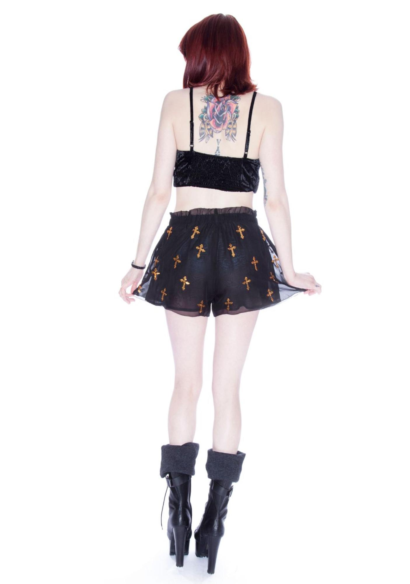 Wildfox Couture Romeo And Juliet Rodeo Shorts