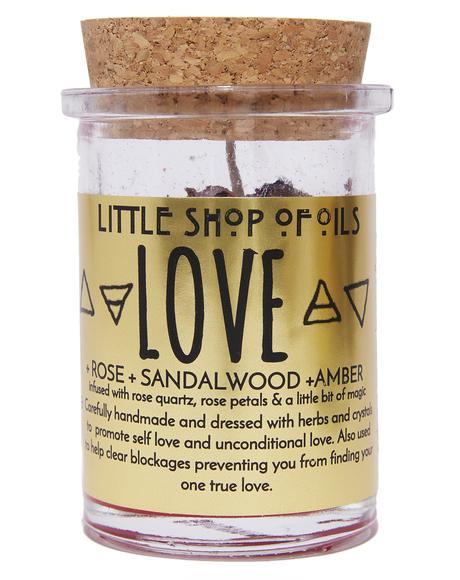 Love Ritual Candle