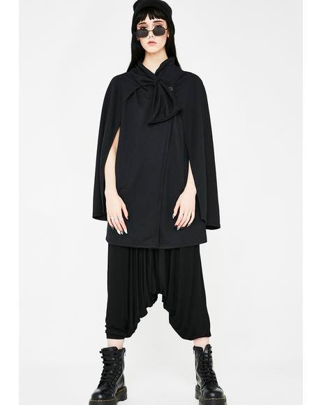 The Reckoning Wide Sleeve Cape