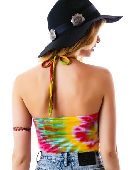 Give Me Head Tie Dye Halter
