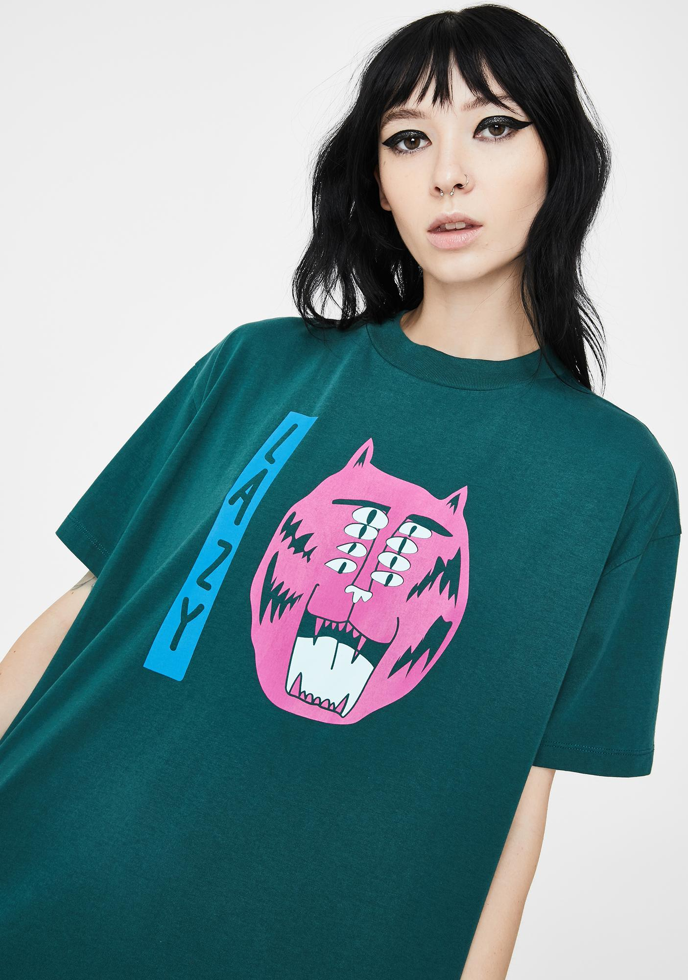 Lazy Oaf Eyes On The Prize Graphic Tee