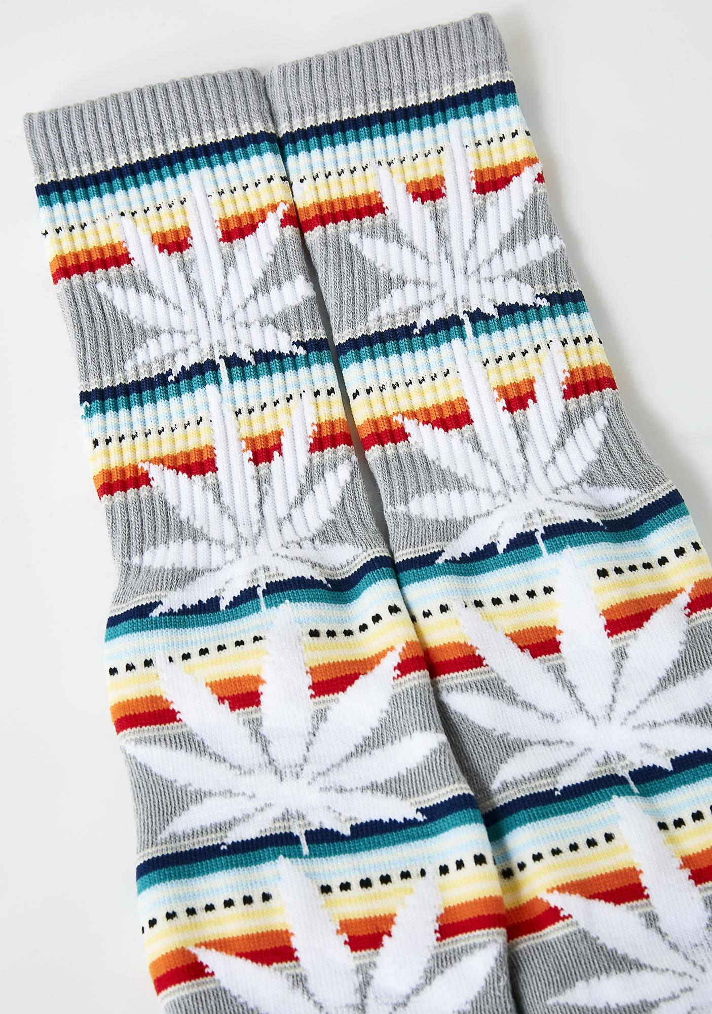 HUF Serape Plantlife Socks