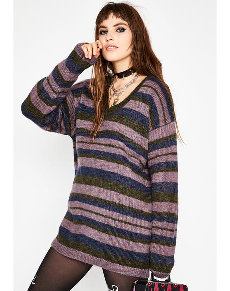 Nobody's Home Oversize Sweater