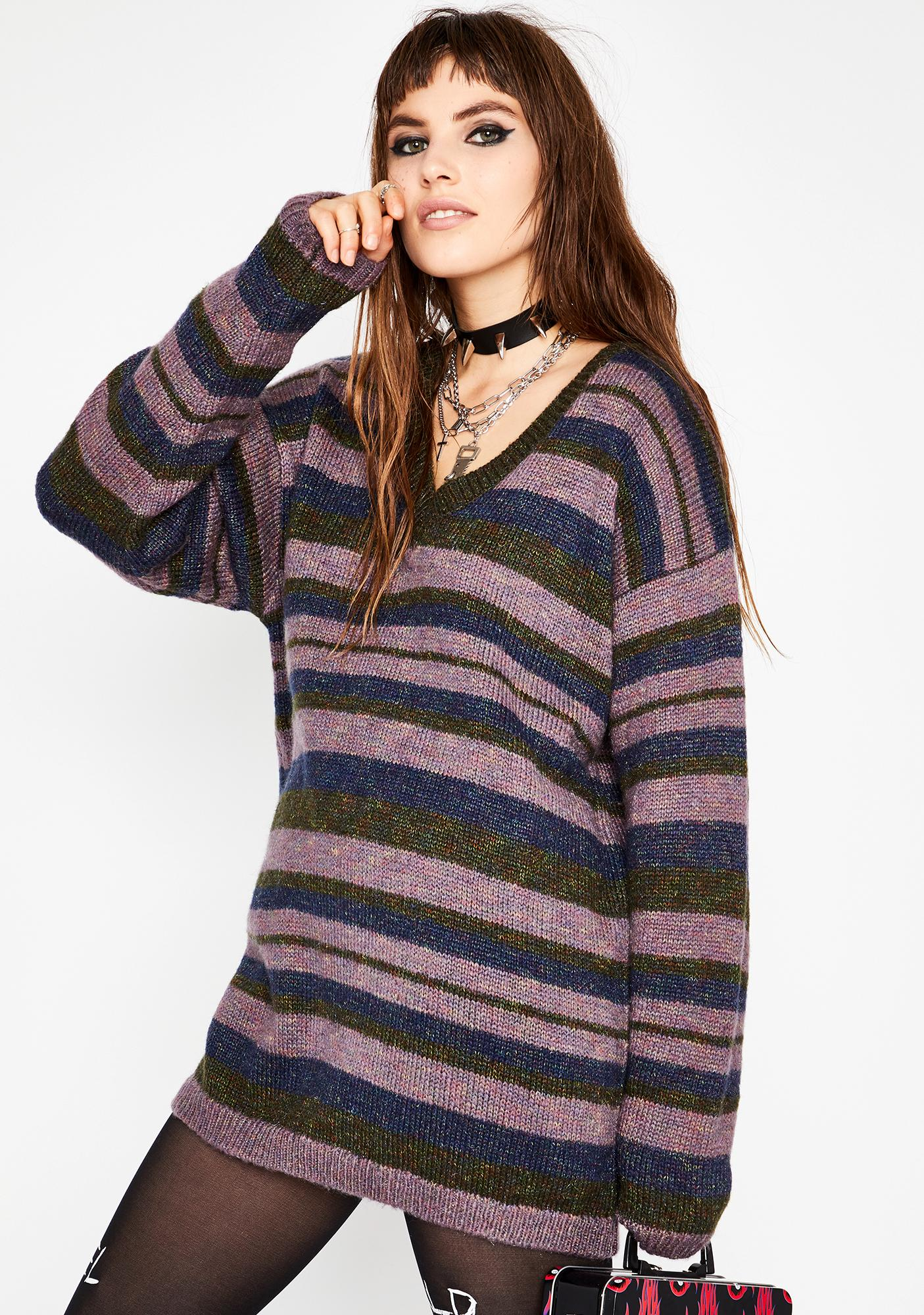 Current Mood Nobody's Home Oversize Sweater