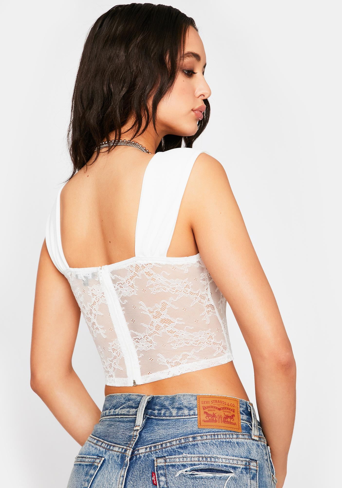 Holy The Thicc Of It Lace Cami