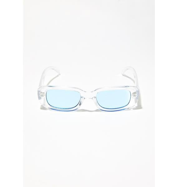 Dance With Me Clear Sunglasses