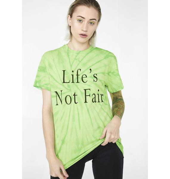 Illustrated People Life's Not Fair Graphic Tee