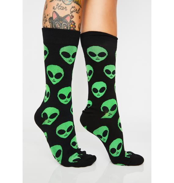 So Xxxtra-terrestrial Socks