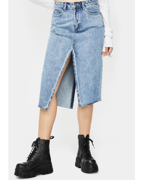 Kaia Denim Skirt