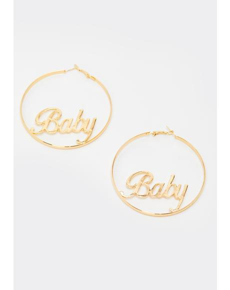 Always Be Yours Hoop Earrings