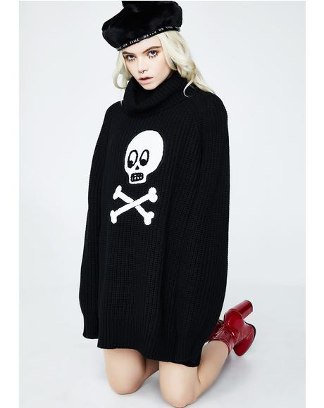 Dead Head Knit Jumper