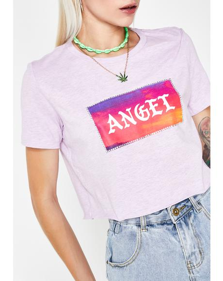 Angel Crop Tee