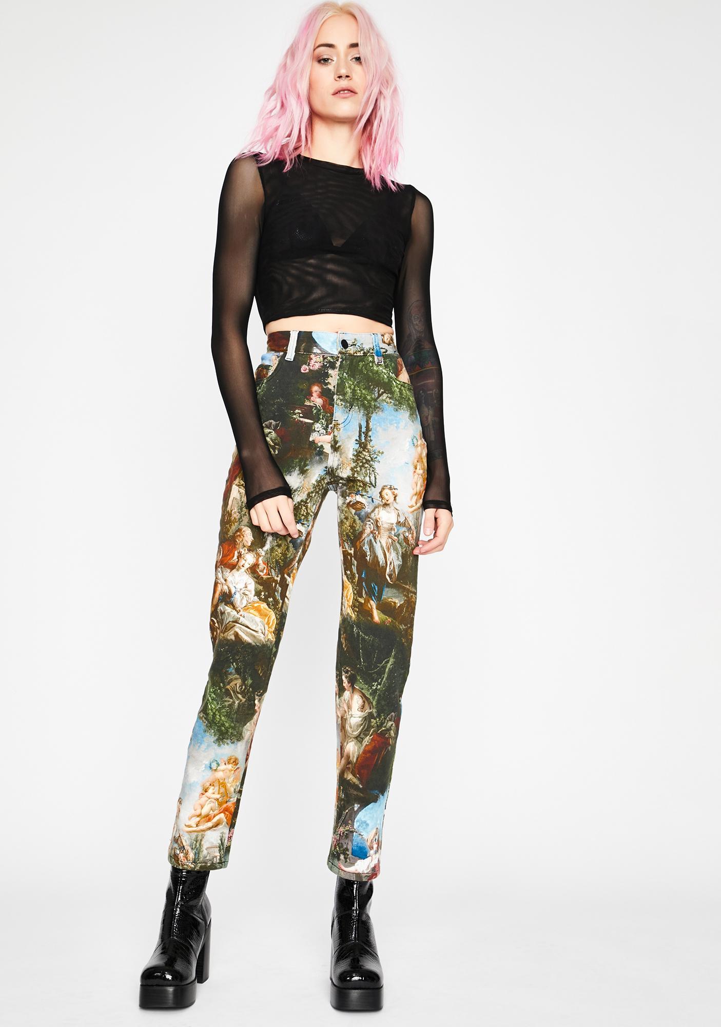 Current Mood Da Vinci's Demons High Waist Jeans